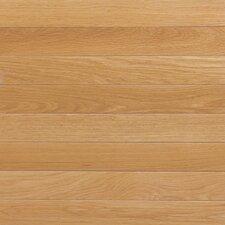 "Color Plank 5"" Solid White Oak Hardwood Flooring in Natural"