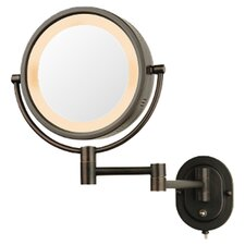 Lighted 5X Magnifying Cosmetic Mirror