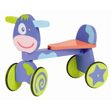 Wooden Push Ride-On
