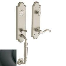 Manchester Dummy Single Cylinder Entrance Handleset