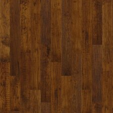 "5"" Solids Hickory Hardwood Flooring in Sorghum"