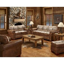 Alpine Lodge 4 Piece Living Room Set with Sleeper Sofa
