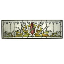 Gothic Transom Stained Glass Window