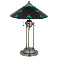 """Metro Fusion Plum Crazy Decor Ball 26"""" H Table Lamp with Cone Shade"""