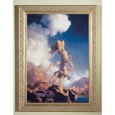 Maxfield Parrish Ecstacy Framed Graphic Art