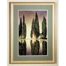 Maxfield Parrish Reservoir Framed Graphic Art