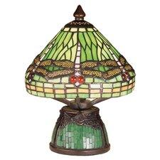 """Tiffany 10.5"""" H Mini Table Lamp with Empire Shade"""