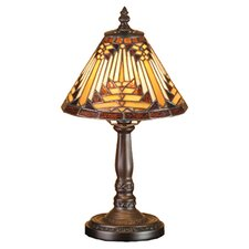 "Nuevo Mission 14"" H Table Lamp with Empire Shade"