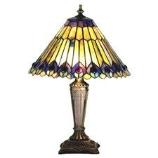 "Tiffany 17"" H Table Lamp with Empire Shade"