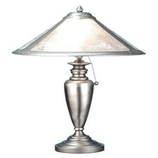 """Van Erp Mica 23"""" H Table Lamp with Cone Shade"""