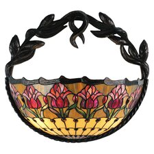 Colonial Tulip 2 Light Wall Sconce