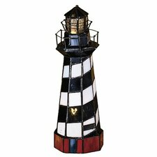 """Nautical 10"""" H Table Lamp with Novelty Shade"""