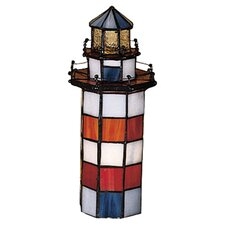 "Nautical 10"" H Table Lamp with Novelty Shade"
