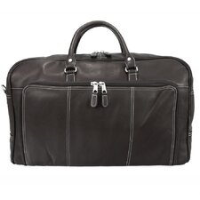 "Heritage 21"" Leather Las Vegas Weekender Duffel"