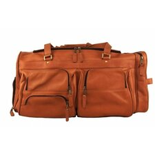 "Heritage 22"" Leather Viking Travel Duffel"