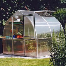 Riga IIs 7.5 Ft. W x 7 Ft. D Polycarbonate Greenhouse