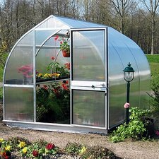 Riga III 10.5 Ft. W x 10.5 Ft. D Polycarbonate Greenhouse