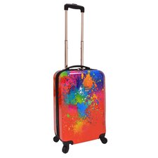 "Fashion Paint Splatter 20"" Hardsided Spinner Suitcase"