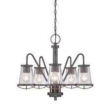 Darby 5 Light Candle Chandelier
