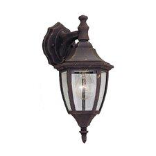 Budget Cast Aluminum 1 Light Wall Lantern