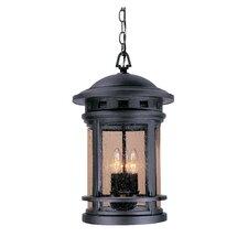 Sedona 3 Light Outdoor Hanging Lantern