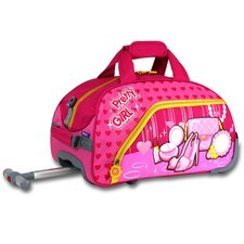 Pretty Girl Kid's Rolling Duffel