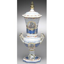 Decorative Urn with Lid