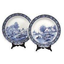 Spring / Winter Plates (Set of 2)