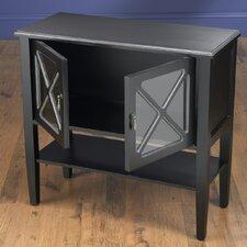 2 Door Cabinet with Shelf