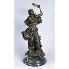 Lady with Tambourine Statue