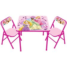 Princess The True Princess Within Kids Square Activity Table Set