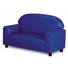 Just Like Home Vinyl Upholstery Sofa