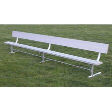 Aluminum Park Bench