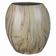 Flat Ceramic Vase