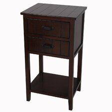 2 Drawer End Table