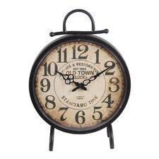 """12.5"""" Metal Clock"""