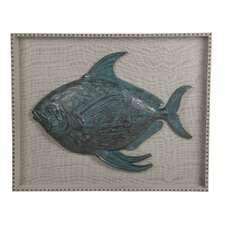 Resin Fish Wall Decor