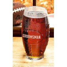 Custom Football Glass