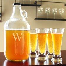 5-Piece Craft Beer Growler Set
