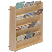 "Wall mount 26"" Book Display"