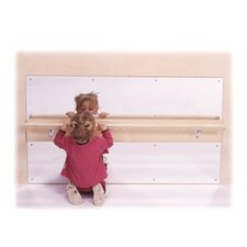 "31"" H x 48"" W Infant Wall Mirror"