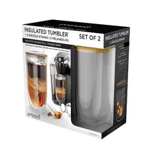 Insulated Tumbler with Lid (Set of 2)