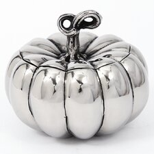 Harvest Lidded Pumpkin Candy Bowl