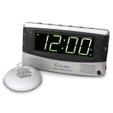 Sonic Boom Dual Alarm Vibrating Clock