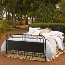 Down Home Garden Slat Panel Bed