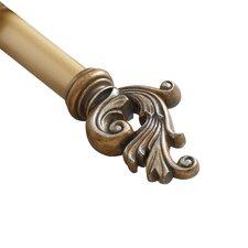 Prometheus Decorative Curtain Single Rod
