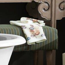 Mosaic Leaves Bath Towel