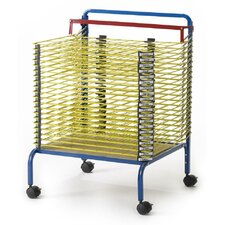 "Spring Loaded Drying 58.5"" H 20 Shelving Unit"