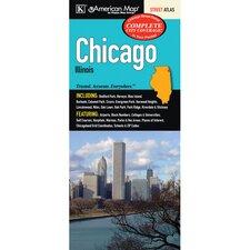 Chicago Illinois City Atlas (Set of 2)