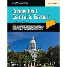 Central and Eastern Connecticut Street Atlas